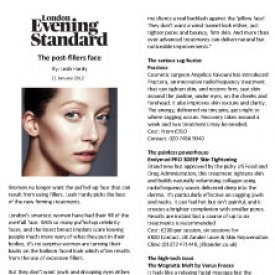 Journalist Leah Hardy explains why injectable fillers are out and radiofrequency treatments such as Fractora are in