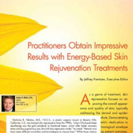 Beverly Hills plastic surgeon Nicholas R. Nikolov uses Fractora as the go-to non-invasive skin rejuvenating treatment for his patients